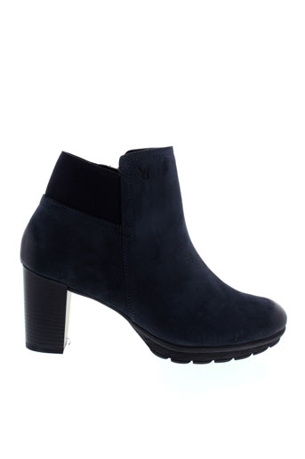 caprice chaussures femme de couleur bleu
