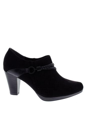 marco et tozzi boots femme de couleur noir