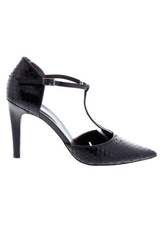 perlato escarpins femme de couleur noir