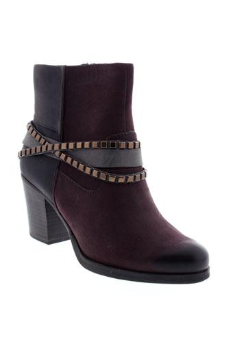 tamaris boots femme de couleur violet