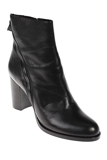 etwob boots femme de couleur noir