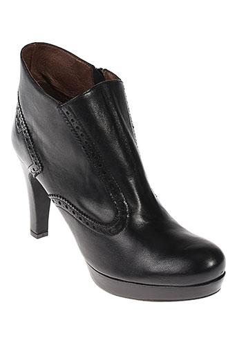 rosemetal boots femme de couleur noir