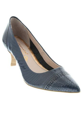 rosemetal escarpins femme de couleur bleu