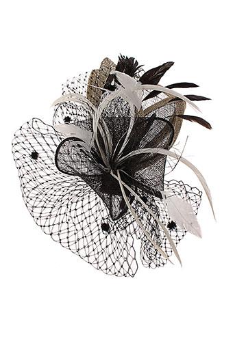camalya chapeaux et bonnets femme de couleur noir