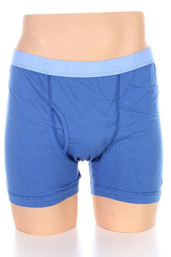 serge blanco lingerie homme de couleur bleu