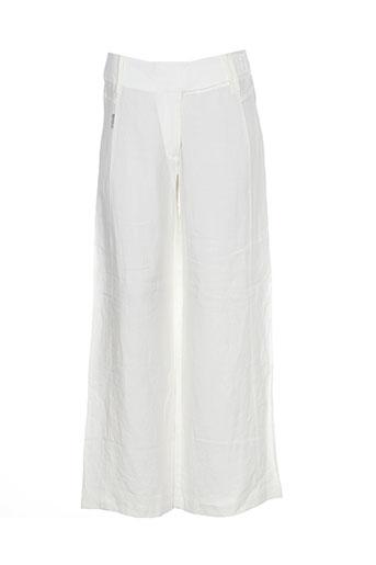 bohemia pantalons femme de couleur beige