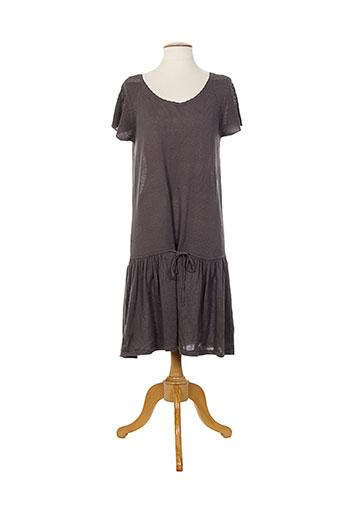 Robe mi-longue violet BOHEMIA pour femme