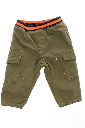 billybandit pantalons et decontractes garcon de couleur vert
