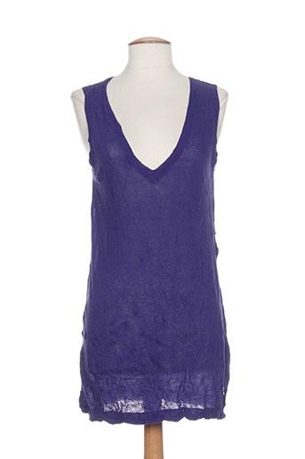 diplodocus chemises femme de couleur violet