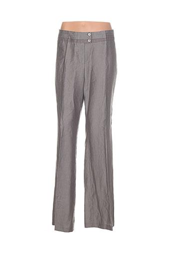 apriori pantalons et citadins femme de couleur gris