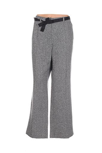 frank et walder pantalons et citadins femme de couleur gris