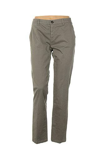 weekend maxmara pantalons femme de couleur gris