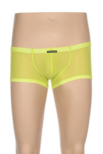 manstore shortys et boxers homme de couleur vert