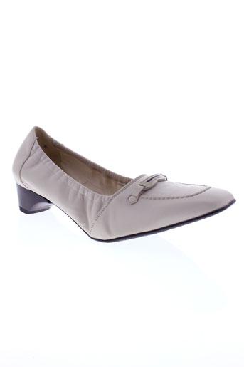 randonnee chaussures femme de couleur beige