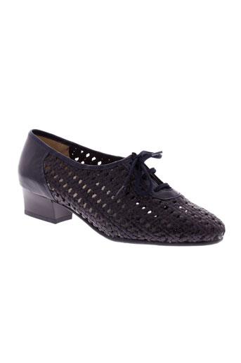 jmg houcke chaussures femme de couleur bleu