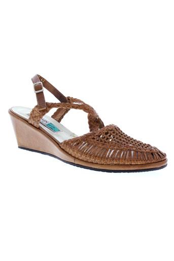 arnoux chaussures femme de couleur marron