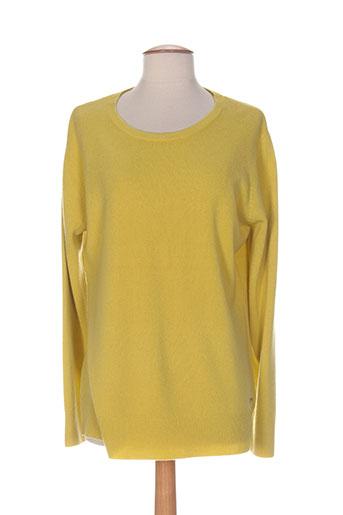 felino pulls femme de couleur jaune