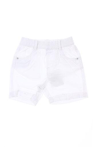 tuc tuc shorts et bermudas fille de couleur blanc