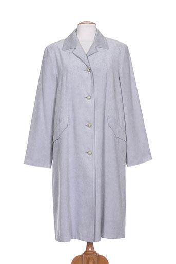 le temps d'un regard manteaux femme de couleur gris