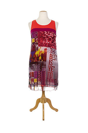 barandi robes femme de couleur rouge