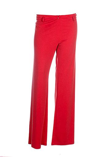 lo! les filles pantalons femme de couleur rouge