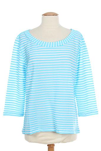 lo! les filles t-shirts femme de couleur bleu