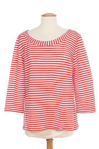 lo! les filles t-shirts femme de couleur rouge