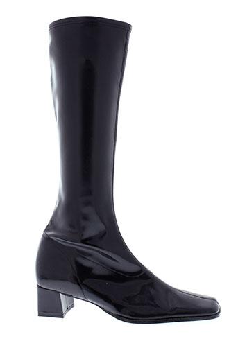 corine bottes femme de couleur noir