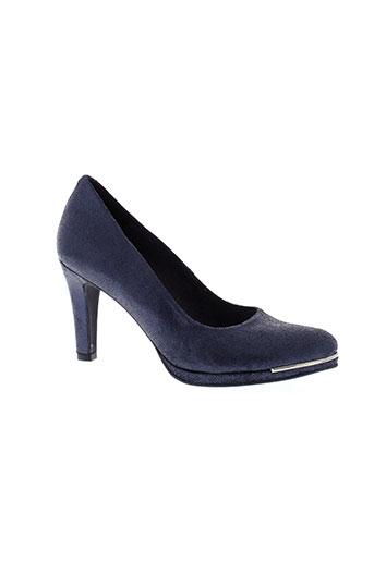 myma escarpins femme de couleur bleu