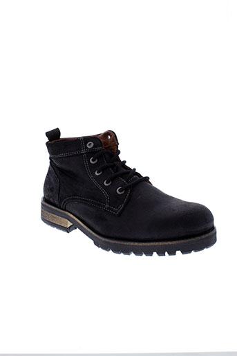 pataugas boots homme de couleur noir