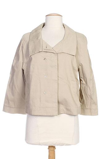 mexx vestes femme de couleur beige