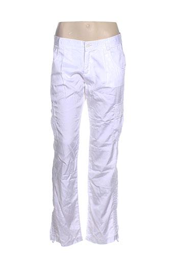 Pantalon casual blanc MEXX pour femme