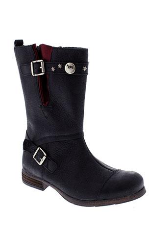 tty bottes fille de couleur noir