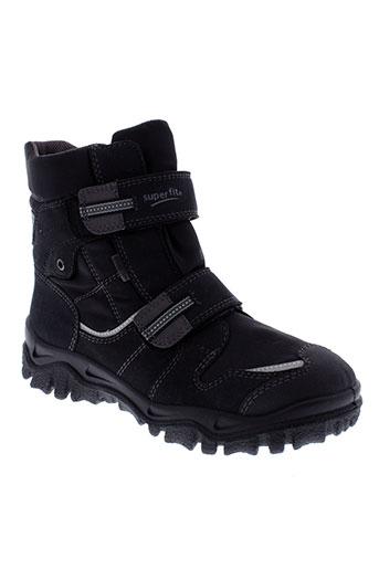super et fit boots homme de couleur noir
