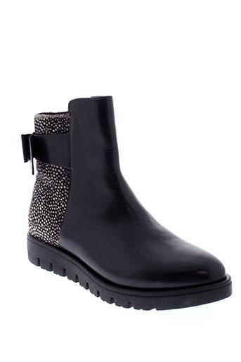 gioseppo et kids boots fille de couleur noir