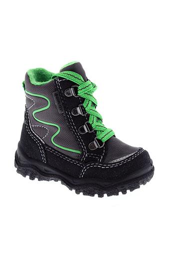 super et fit boots garcon de couleur noir