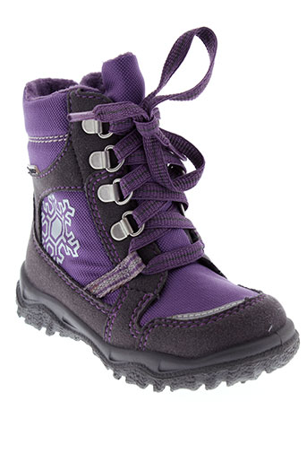 super et fit boots fille de couleur violet