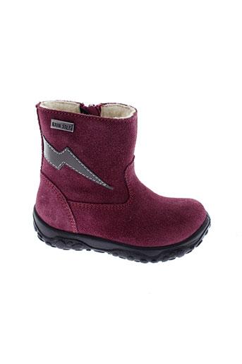 naturino boots fille de couleur violet