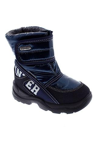 sympatex boots enfant de couleur bleu