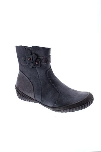 tty boots fille de couleur gris
