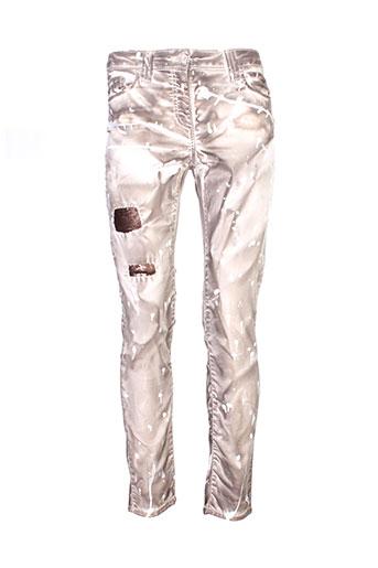 elisa et cavaletti pantalons et decontractes femme de couleur beige