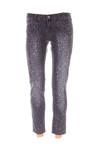 ltb pantalons femme de couleur gris
