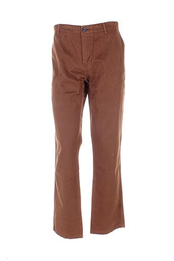 adam pantalons et decontractes homme de couleur marron