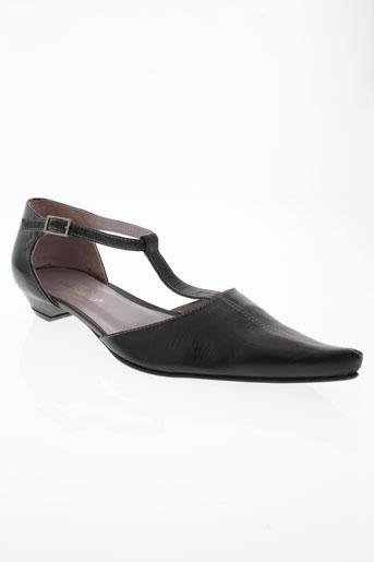 vidi studio chaussures femme de couleur noir