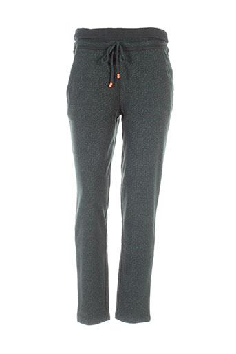 skunkfunk pantalons et decontractes femme de couleur vert