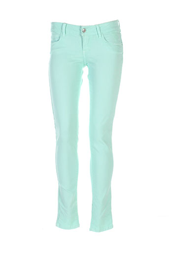 tiffosi jeans femme de couleur vert