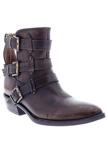 inuovo boots femme de couleur marron