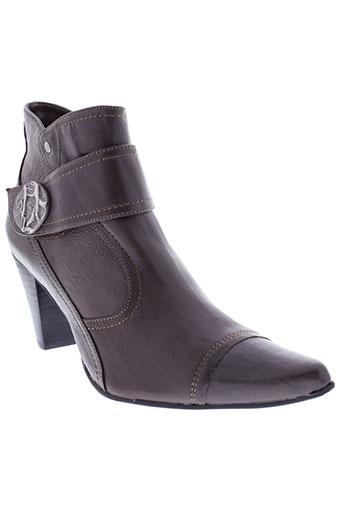 fugitive et by et francesco et rossi boots femme de couleur gris