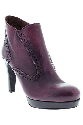 rosemetal chaussures femme de couleur violet