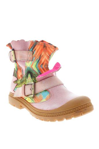 laura et vita boots femme de couleur rose